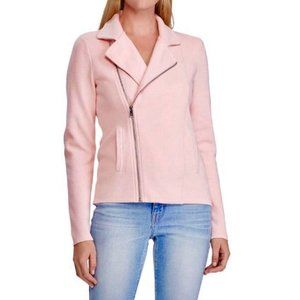 Lauren Ralph Lauren Asymmetric Cotton Moto Jacket
